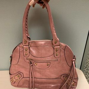 Handbags - Dusty Pink Rose Purse
